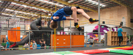 why trampoline parks are good
