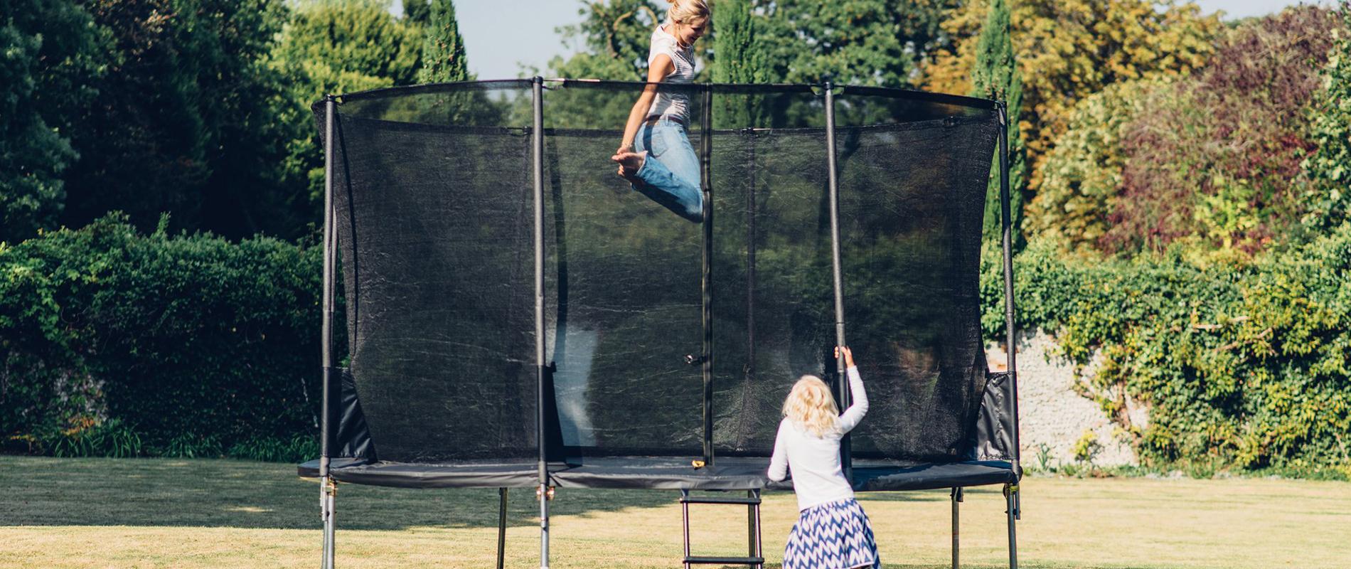 outdoor trampoline sizes