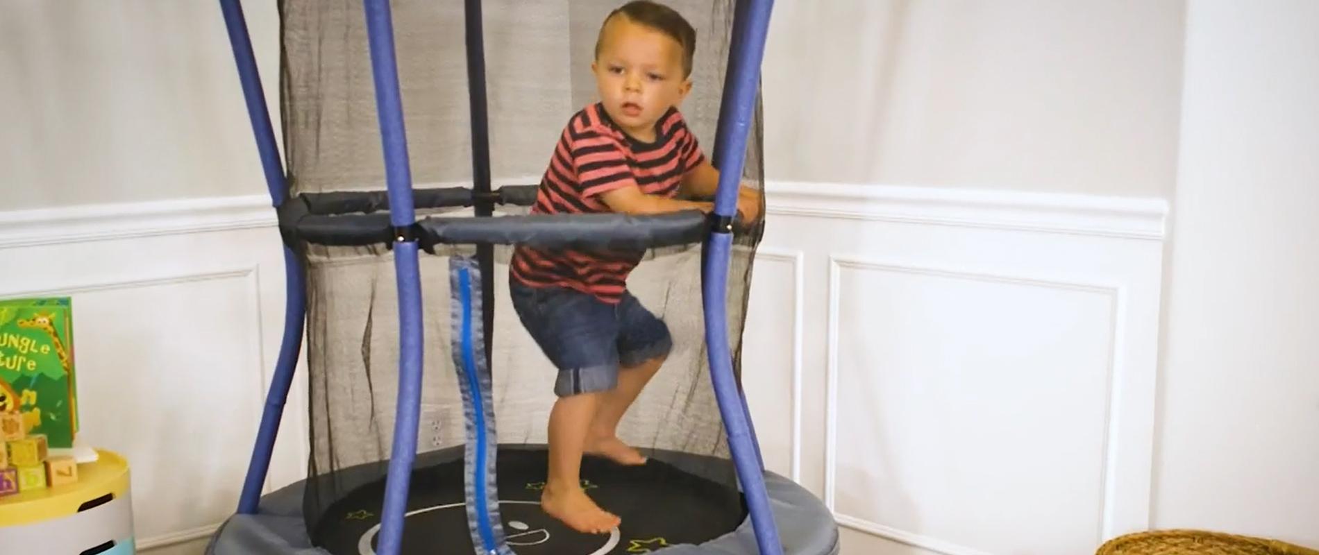 trampoline for kids indoor