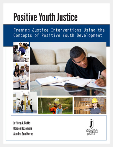 Cover for Positive Youth Justice research article