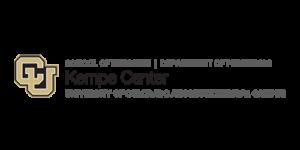 University of Colorado Anschutz Medical Campus Kempe Center Logo
