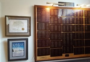 Lecompton Historical Society, Life Members, Lecompton Life Members