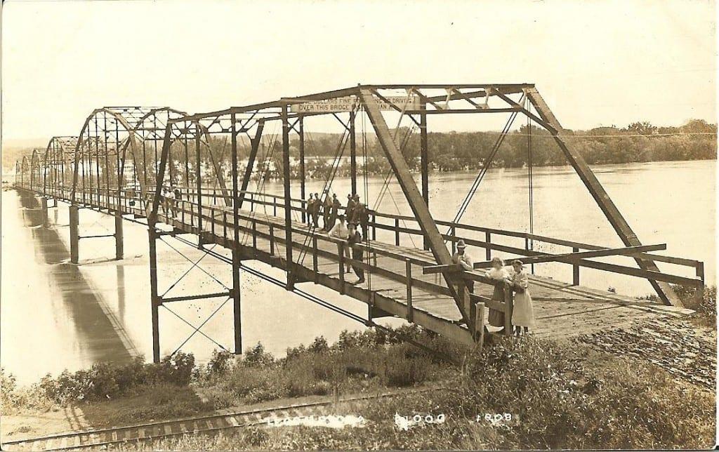 1899 Lecompton Bridge