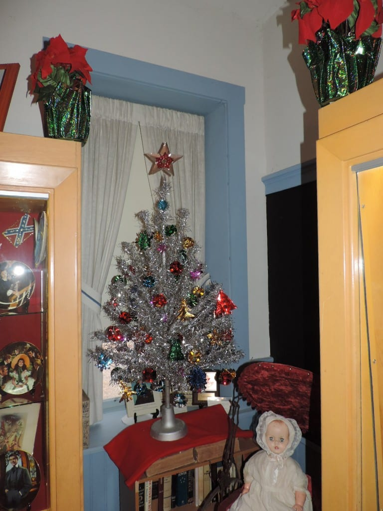 Over 70 tree decorated with vintage and antique ornaments!