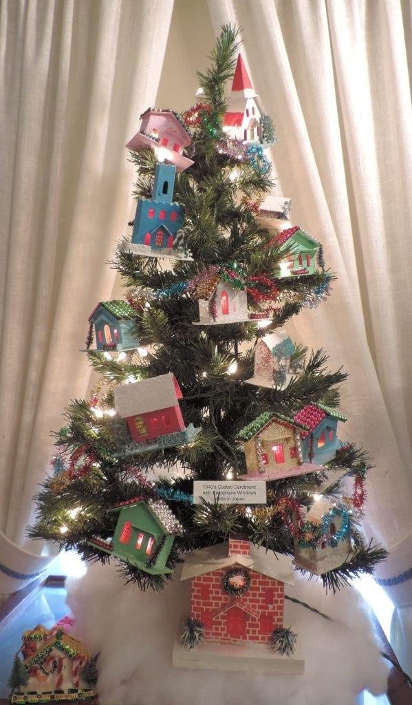 Christmas tree houses,