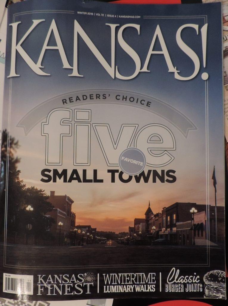 Winter 2016 edition of Kansas! Magazine
