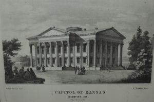 Lecompton Capitol Building, Lane University, Territorial Capital, Territorial Capitol, Kansas capitol, Lecompton, Kansas, James H. Lane, Lane museum, Territorial Capital Museum