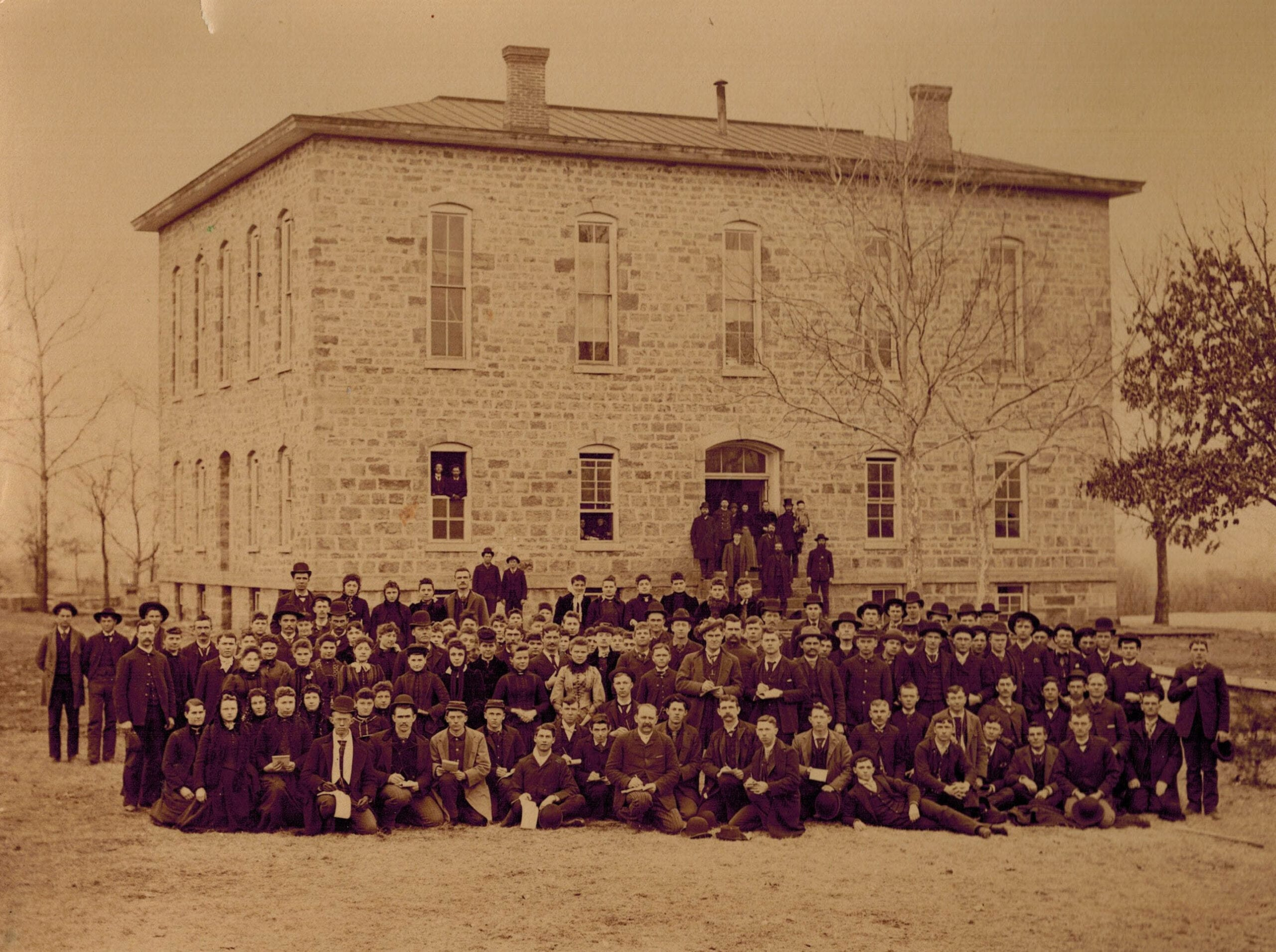 Lane University, Lecompton, Kansas