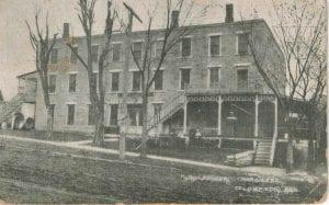 Rowena Hotel, Territorial legislature, Lecompton Kansas Territory, Lecompton, Lane University