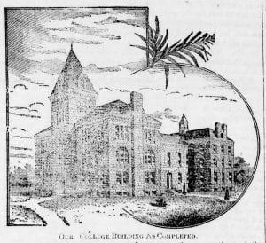 Lane University, Lecompton, John G. Haskell