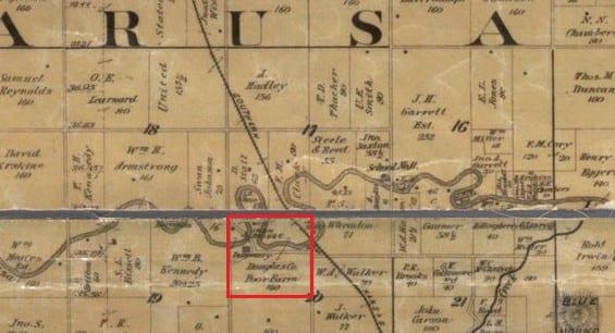Douglas County Kansas, Wakarusa River, Lecompton