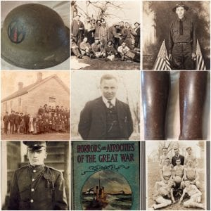 World War One exhibit at the Territorial Capital Museum.