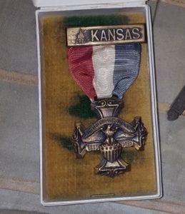 K.B. Logan's Kansas metal.