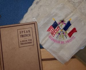 Most American soldiers in France bought souvenirs and tried to learn a little French.