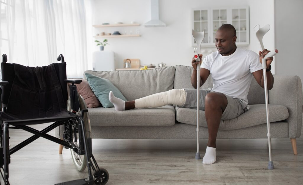 Rehabilitation of people after serious physical accident injury