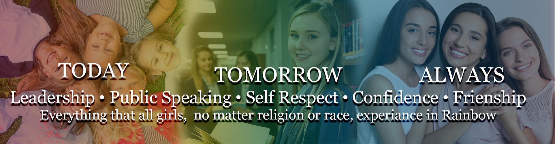 Michigan Rainbow - International Order of Rainbow for Girls - Today, Tomorrow, Always
