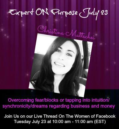 My Expert on Purpose Interview: How to Use Intuition to Make Life-Changing Decisions in Business