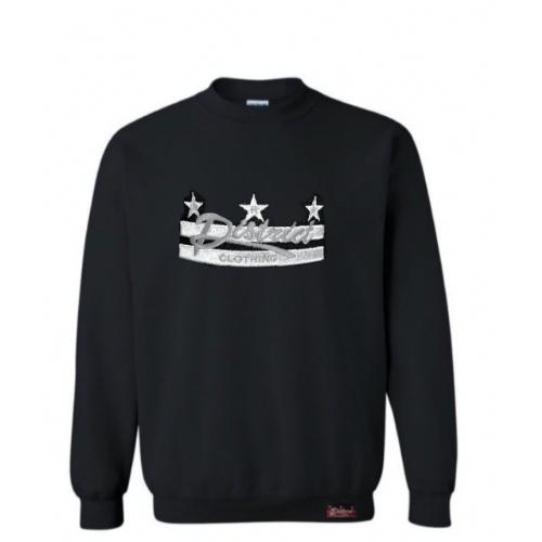 TDCB - Sweat Shirt - Black & Sliver