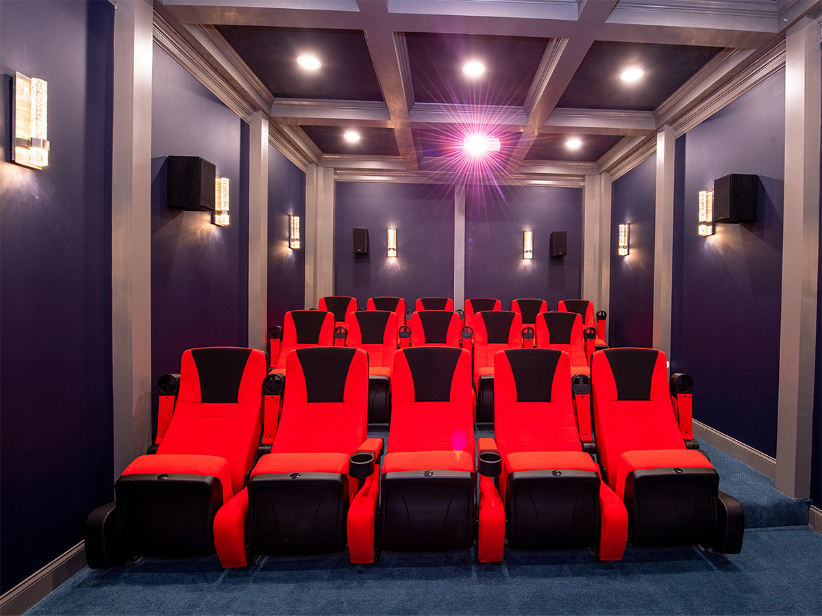 image of viewing room