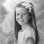 Laurel Isom 16x20 Charcoal on Paper SOLD