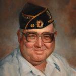 Leonard Mayor of Troy Kansas 16x20 Oil on Canvas Sold
