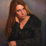 Macy 20x24 Oil on Canvas Sold