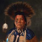 Old Elk Sr. 18x24 Oil on Canvas