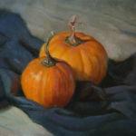Pumpkin Harvest 11x14 Oil on Canvas
