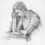 Search Ponder and Pray 8x10 Graphite