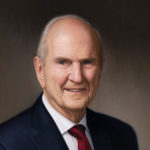 Russell M Nelson President of the Church of Jesus Christ of Latter-day Saints 40x48 Oil on Linen-SOLD