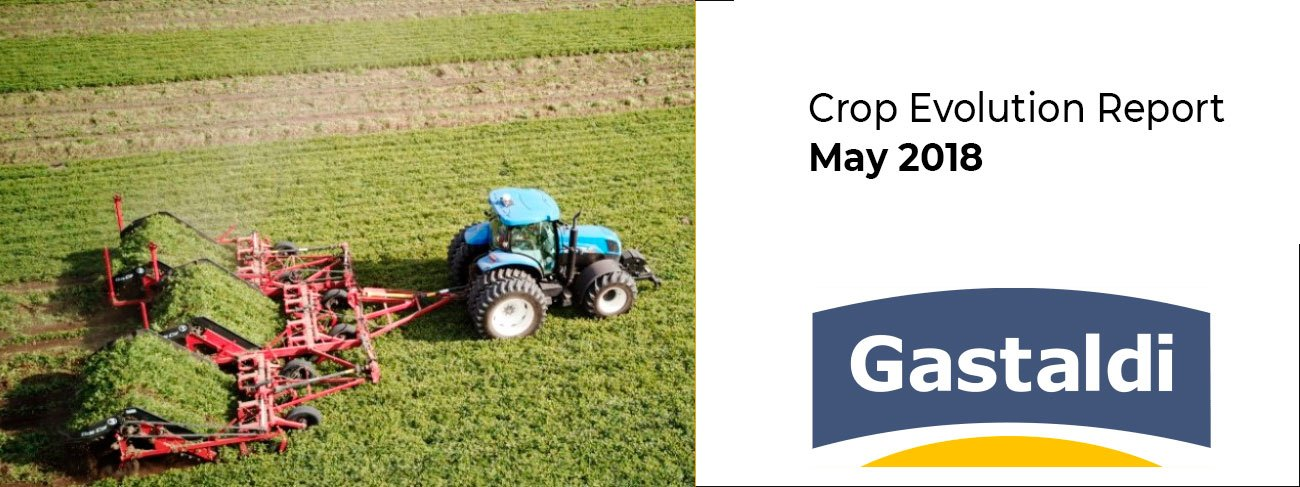 Crop Evolution Report – May 2018