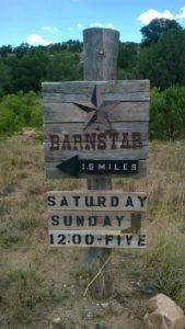 BARNSTAR Sign