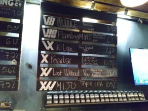 12 WEST Bar Menu 2