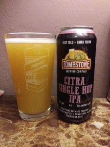 TOMBSTONE Citra in can