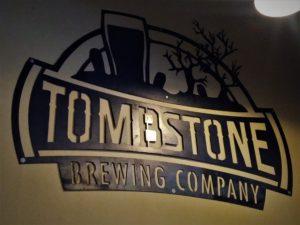 TOMBSTONE Wall Logo