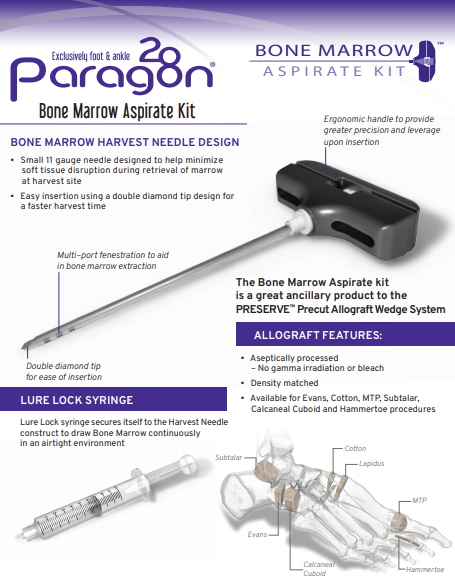 Bone Marrow Aspirate Brochure