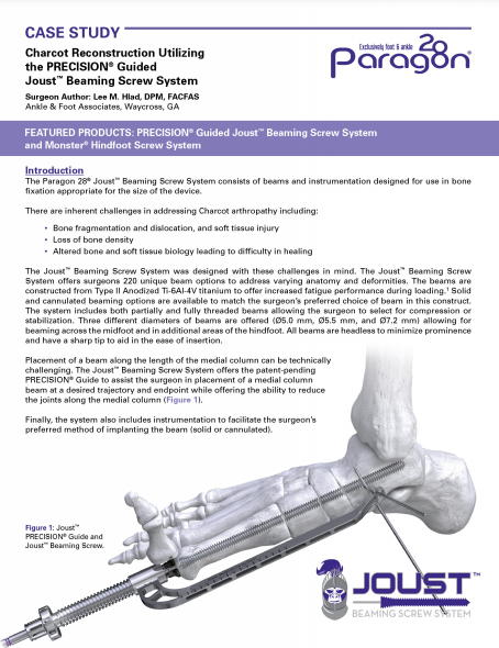 Charcot Case Study by Dr. Lee Hlad, DPM