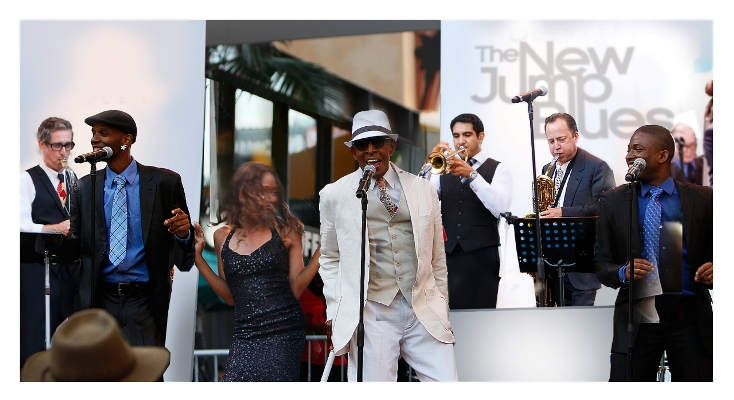 The New Jump Blues Band featuring Antonio Fargas