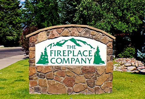 The Fireplace Company signage