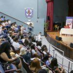 Grupo de estudiantes que participaron del evento. Foto Emilio León Photography