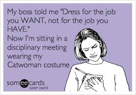 Dressing For Success?!