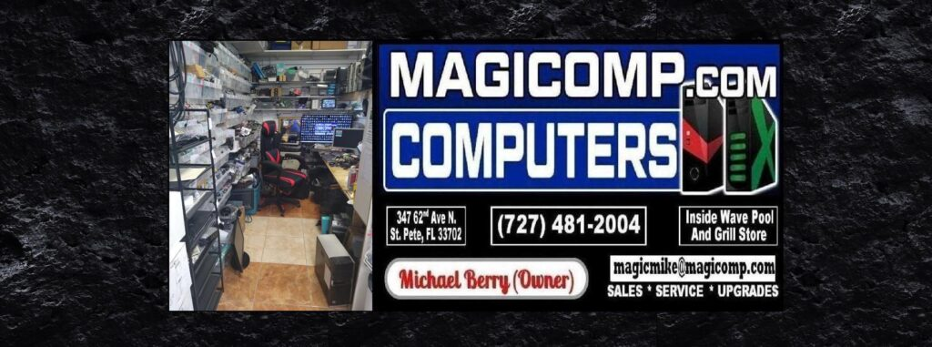Magicomp Computer Repair Logo