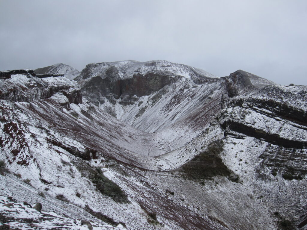 Tarawera Crater, New Zealand