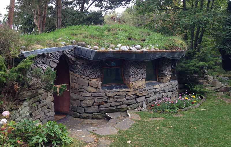 Nature Sanctuary, Findhorn Foundation, Forres, UK