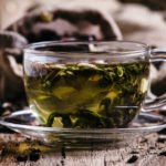 green tea in a cup healthy