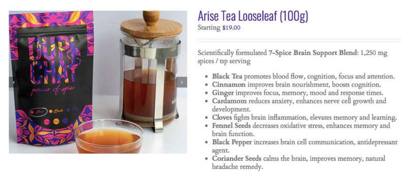 loose leaf tea french press