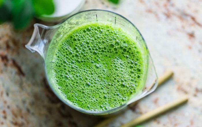 green smoothie gut health