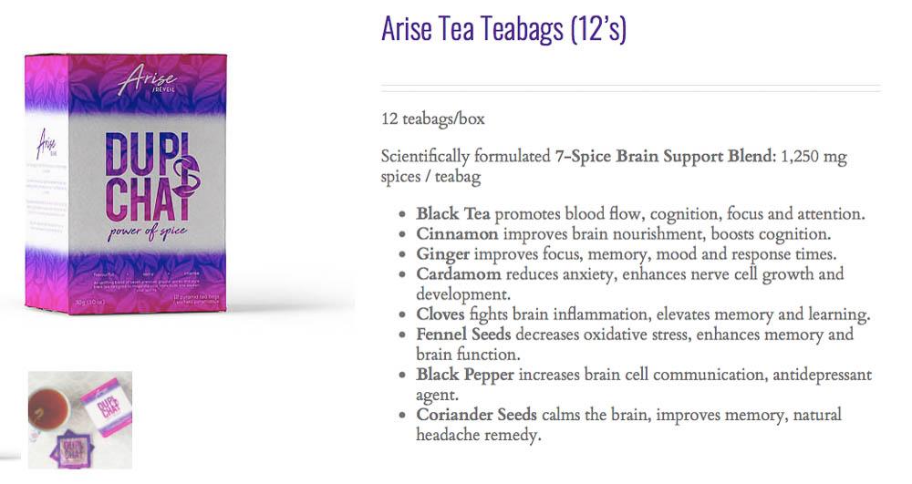 Arise Chai Tea Health Benefits