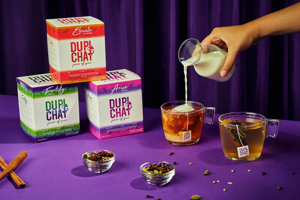 DUPIsCHAI Teabag Recipes (3 ways)   Simple, Healthy, Flavourful
