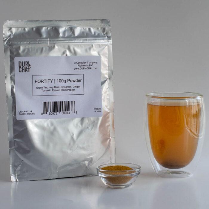 Fortify Chai Powder